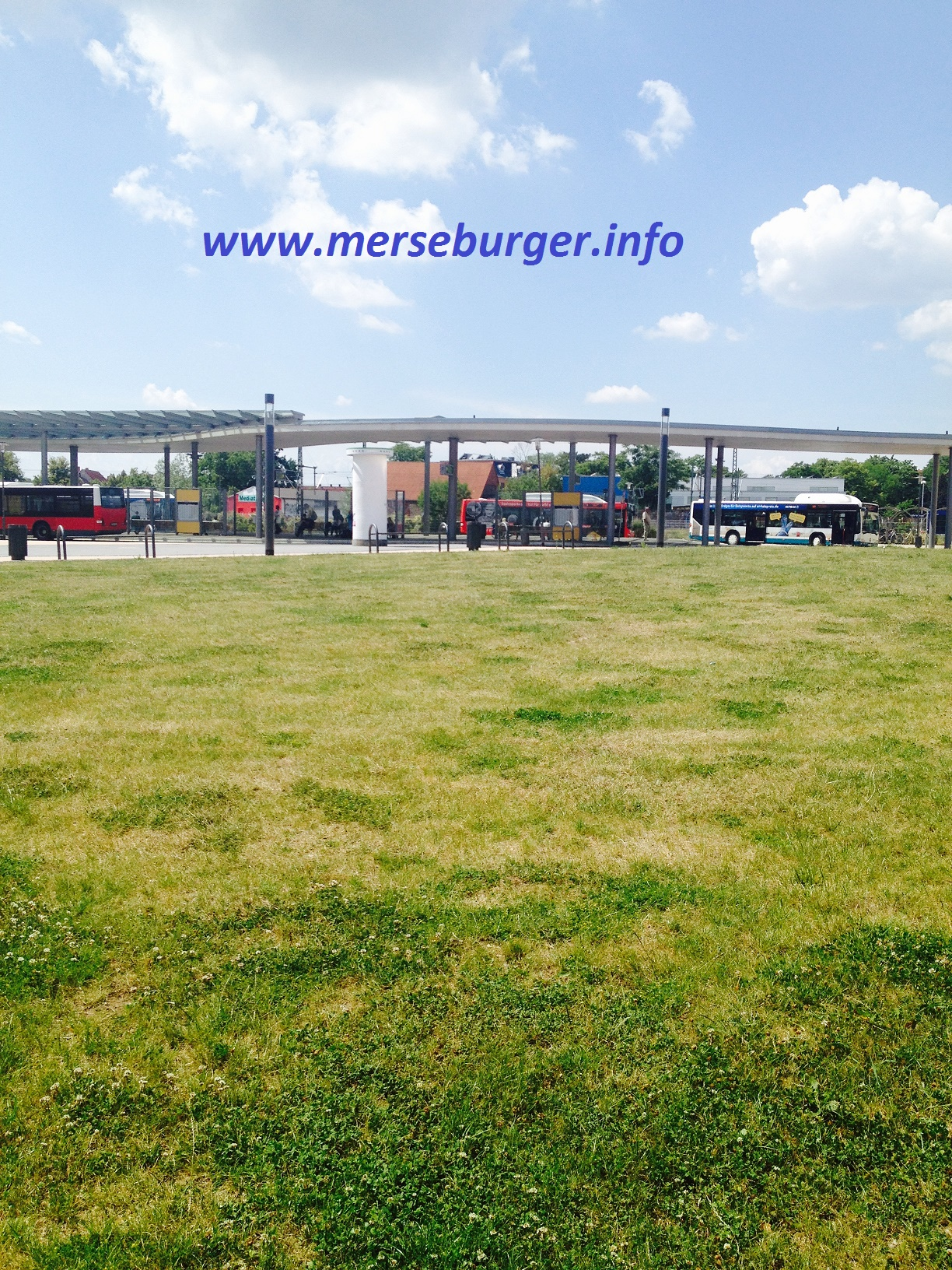 Merseburg Bus-Bahnhof